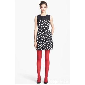 Jason Wu Miss Wu Delicate Leaf Print Dress
